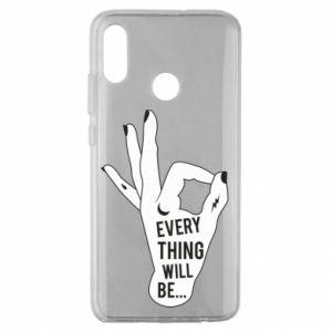Etui na Huawei Honor 10 Lite Every thing will be ok
