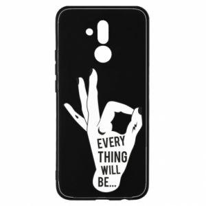 Etui na Huawei Mate 20 Lite Every thing will be ok