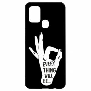 Etui na Samsung A21s Every thing will be ok