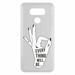 Etui na LG G6 Every thing will be ok