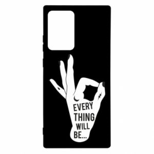 Etui na Samsung Note 20 Ultra Every thing will be ok