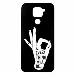 Etui na Xiaomi Redmi Note 9/Redmi 10X Every thing will be ok