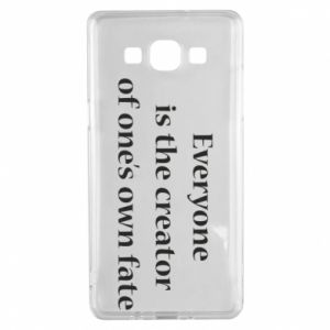 Etui na Samsung A5 2015 Everyone is the creator of one's own fate