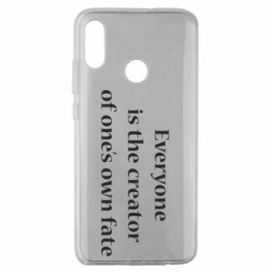 Etui na Huawei Honor 10 Lite Everyone is the creator of one's own fate