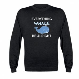 Bluza dziecięca Everything whale be alright