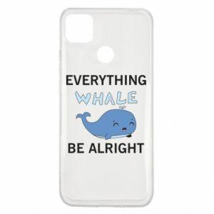 Etui na Xiaomi Redmi 9c Everything whale be alright