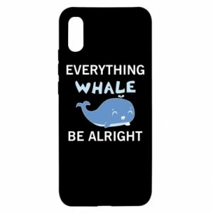 Etui na Xiaomi Redmi 9a Everything whale be alright