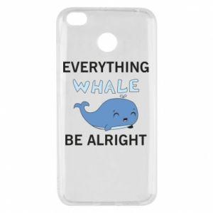 Etui na Xiaomi Redmi 4X Everything whale be alright