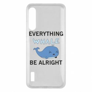 Etui na Xiaomi Mi A3 Everything whale be alright