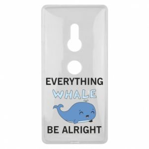 Etui na Sony Xperia XZ2 Everything whale be alright