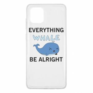 Etui na Samsung Note 10 Lite Everything whale be alright