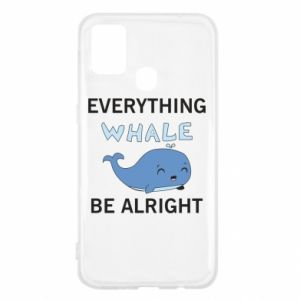 Etui na Samsung M31 Everything whale be alright
