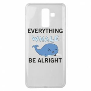 Etui na Samsung J8 2018 Everything whale be alright