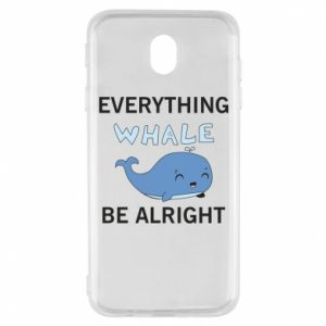 Etui na Samsung J7 2017 Everything whale be alright