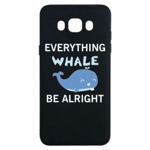 Etui na Samsung J7 2016 Everything whale be alright