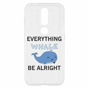 Etui na Nokia 4.2 Everything whale be alright