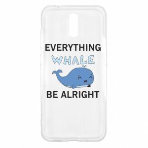 Etui na Nokia 2.3 Everything whale be alright