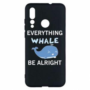 Etui na Huawei Nova 4 Everything whale be alright