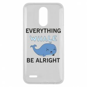 Etui na Lg K10 2017 Everything whale be alright