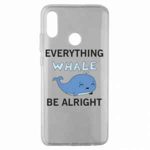Etui na Huawei Honor 10 Lite Everything whale be alright