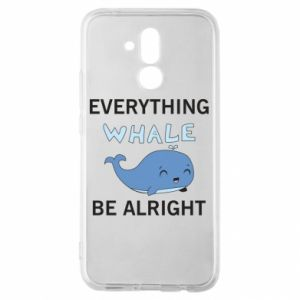 Etui na Huawei Mate 20 Lite Everything whale be alright