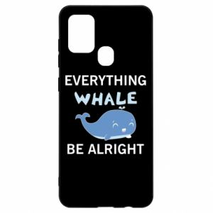 Etui na Samsung A21s Everything whale be alright