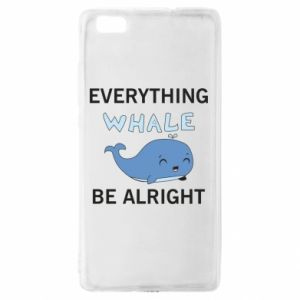 Etui na Huawei P 8 Lite Everything whale be alright