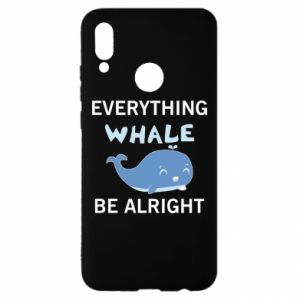 Etui na Huawei P Smart 2019 Everything whale be alright
