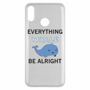 Etui na Huawei Y9 2019 Everything whale be alright