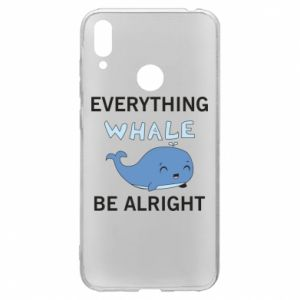 Etui na Huawei Y7 2019 Everything whale be alright