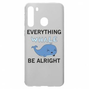 Etui na Samsung A21 Everything whale be alright