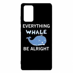 Etui na Samsung Note 20 Everything whale be alright