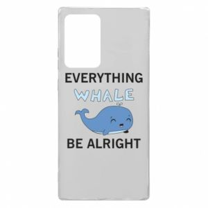 Etui na Samsung Note 20 Ultra Everything whale be alright