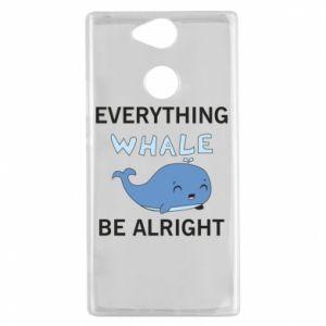 Etui na Sony Xperia XA2 Everything whale be alright
