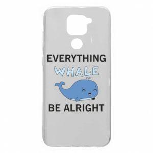 Etui na Xiaomi Redmi Note 9/Redmi 10X Everything whale be alright