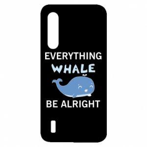 Etui na Xiaomi Mi9 Lite Everything whale be alright