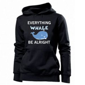 Bluza damska Everything whale be alright