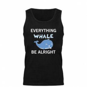 Męska koszulka Everything whale be alright
