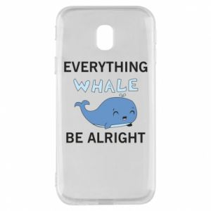 Etui na Samsung J3 2017 Everything whale be alright