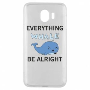 Etui na Samsung J4 Everything whale be alright