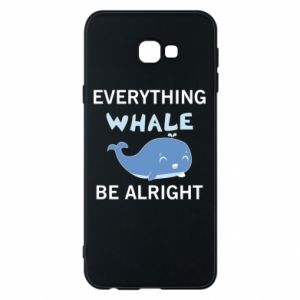 Etui na Samsung J4 Plus 2018 Everything whale be alright