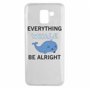 Etui na Samsung J6 Everything whale be alright