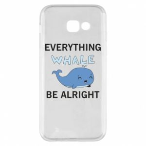 Etui na Samsung A5 2017 Everything whale be alright