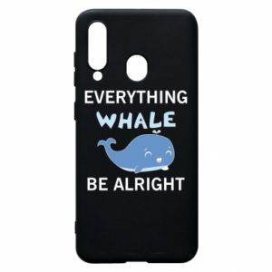 Etui na Samsung A60 Everything whale be alright