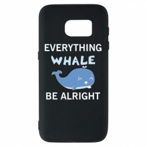 Etui na Samsung S7 Everything whale be alright