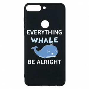 Etui na Huawei Y7 Prime 2018 Everything whale be alright