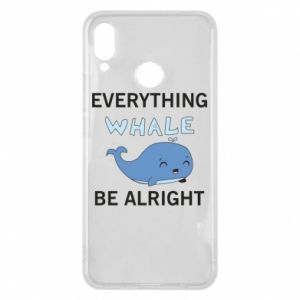 Etui na Huawei P Smart Plus Everything whale be alright