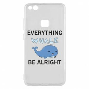 Etui na Huawei P10 Lite Everything whale be alright