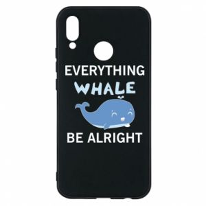 Etui na Huawei P20 Lite Everything whale be alright