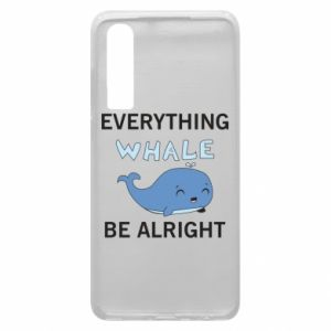 Etui na Huawei P30 Everything whale be alright